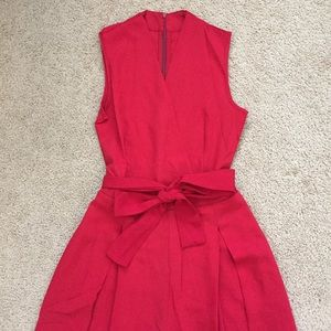 Dresses & Skirts - Red Bell Bottom Jumpsuit